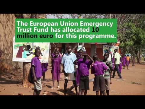 Launch of the EU project for Refugees in Northern Uganda