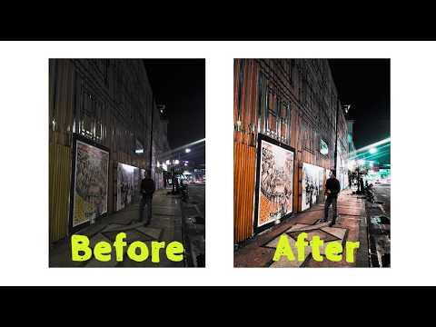 VIDEO Cara Edit Foto Malam Hari Dengan Photoshop Yang Lagi ...