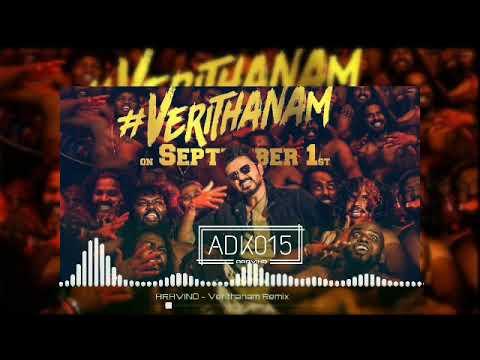 Bigil - Verithanam - Instrumental Remix   Thalapathy Vijay, Nayanthara   A.R Rahman   Atlee   AGS