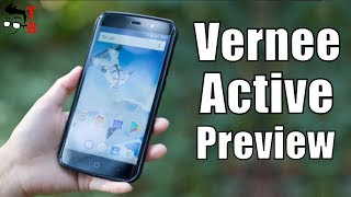 Vernee Active Preview: Light & Slim Rugged Phone with 6GB RAM (Official Video)