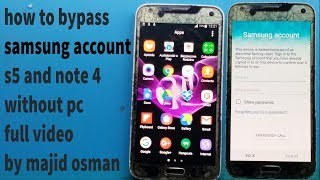 note 4 samsung account bypass 2019 - Thủ thuật máy tính - Chia sẽ