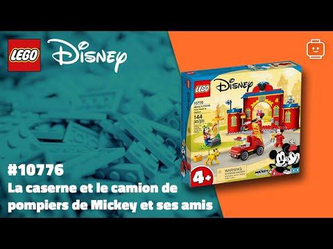 Vidéo LEGO Disney 10776 : Mickey & ses amis : La caserne et le camion de pompiers