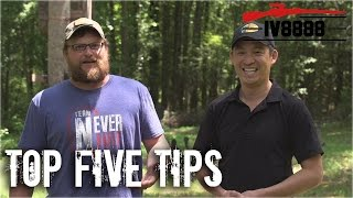 Top 5 Tips For Beginning Shooters
