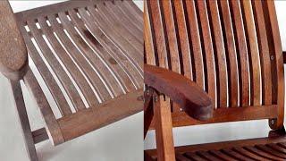Gartenmöbel aus Holz reinigen, auffrischen und entgrauen [Frühlingsspecial]