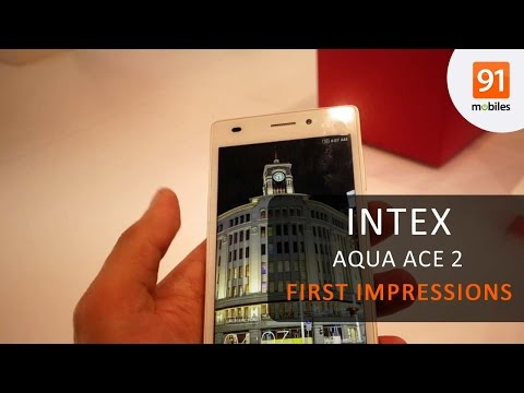 Intex Aqua Ace II first impressions