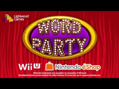 Word Party™ for Nintendo Wii U Launch Trailer thumbnail