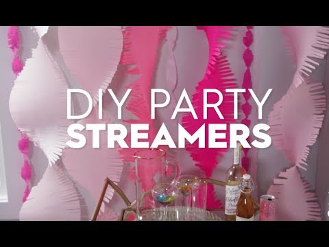 DIY Party Streamers | Made By Me Crafts | Better Homes & Gardens