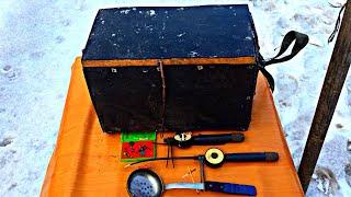Удочка для зимней рыбалки ссср