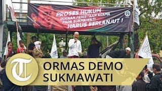 Ormas di Solo Gelar Unjuk Rasa Tuntut Sukmawati Diadili