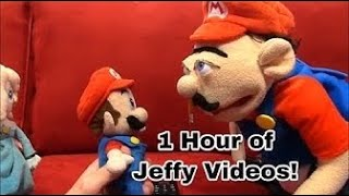 *1 HOUR* Jeffy SML Marathon! Funny Jeffy Videos