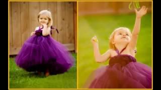 New Season Birthday Party Tutu Dress Collection 2017 | Kids Flower Tutu Outfits