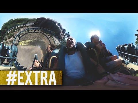 hqdefault - Viaje en una montaña rusa en 360 grados
