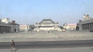 北朝鮮04金日成広場
