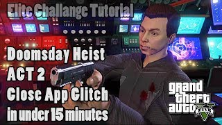 gta 5 doomsday heist act 2 glitch patched - मुफ्त