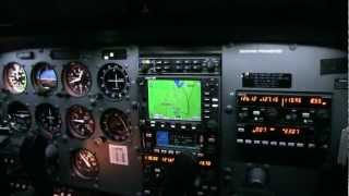 preview picture of video 'Cessna 172 VFR Night - Oslo city norway by night [HQ]'