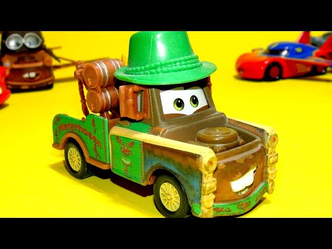 Download Pixar Cars Collectors Mater Hosen for sale From Pixar Cars 2 Rare Cars For Sale Materhosen Mp4 HD Video and MP3