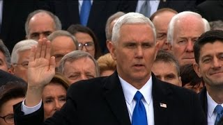 Vice President Mike Pence sworn in - Video Youtube