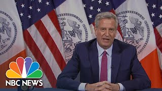 Mayor De Blasio On Daughter's Arrest: 'I'm Proud That She Cares So Much' | NBC News NOW