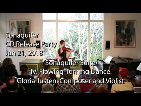 CD Release performance of Sonaquifer Suite for Solo Viola - Flowing-Turning Dance