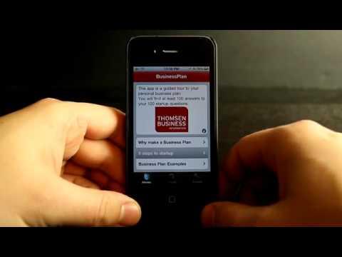 Video of Business Plan & Start-up info