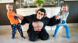 Gaby Alex and Funny Monkey