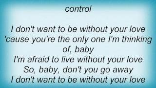 Angelina - Without Your Love Lyrics