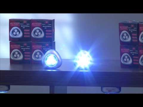 Luminea LED-Lampe, E14, R50, 6 W, 2700 K, warmweiß, 10er-Set