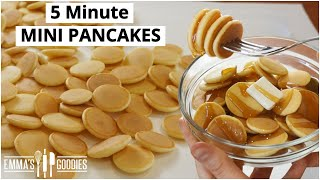 how to make pancakes with eggs milk and flour