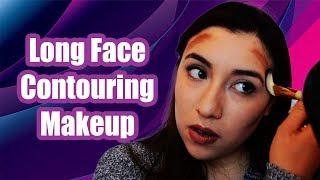 Contouring Makeup For Long Face