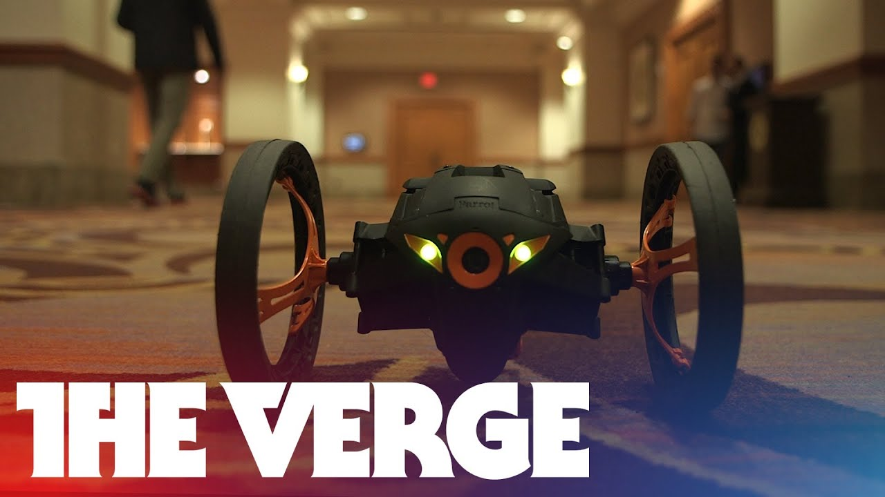 Parrot MiniDrone and Jumping Sumo hands-on thumbnail