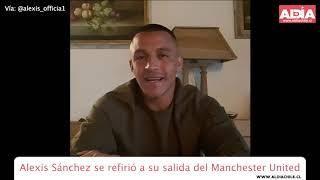 Alexis Sánchez habló de su complicado paso por el Manchester United de Inglaterra