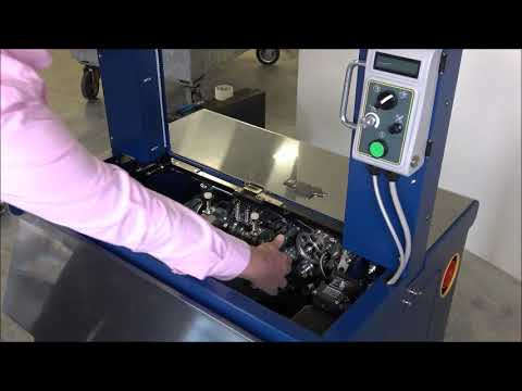 Ampag Speed: Cleaning the machine