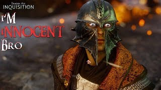 Dragon Age Inquisition False Accusations