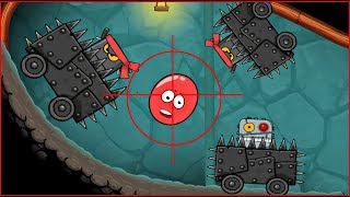 САМАЯ ОПАСНАЯ ЛОВУШКА в подземелье ! КРАСНЫЙ ШАРИК ! новая веселая игра ! Мультик Для детей !