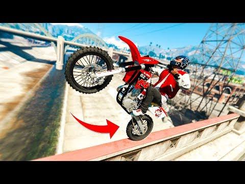 Download ULTIMATE REAL LIFE BIKE STUNTS! - (GTA 5 Stunts & Fails) HD Mp4 3GP Video and MP3