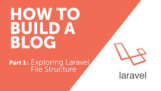 How to Build a Blog with Laravel - Part 1 (Exploring File Structure)
