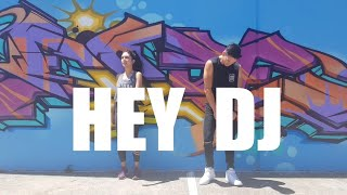 Hey DJ (remix) By CNCO, Meghan Trainor, Sean Paul   Choreography   Zumba   Poppy   Dance & Fitness