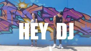 Hey DJ (remix) By CNCO, Meghan Trainor, Sean Paul   Choreography   Zumba   Poppy   Dance & Fitness