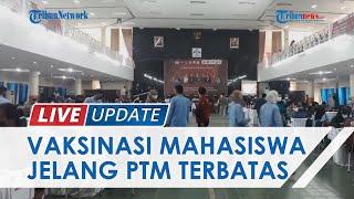 Persiapan Kuliah Tatap Muka Terbatas, Mahasiswa UIN Raden Fatah Mulai Jalani Vaksinasi