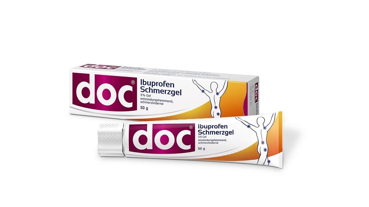 doc<sup>®</sup> Ibuprofen Schmerzgel wirkt genau dort, wo der Schmerz sitzt. Erfahren Sie mehr zu seiner Wirkungsweise: