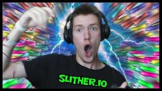 ELEKTRICKÝ CHALLENGE!   slither.io #9   SK Let