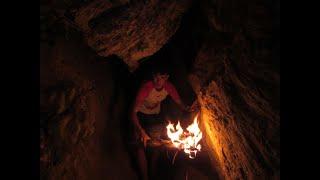 CAVEMAN: Exploring a bear cave.