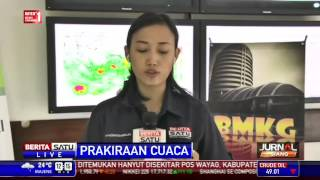 BMKG Hujan Guyur Jakarta Sampai Malam