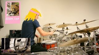 Steel Panther - Death to all Butt Metal [Drum Cover /w Foot Cam]