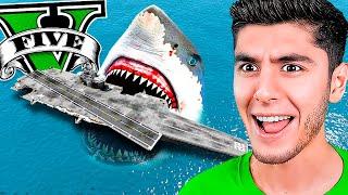 BUSCO Al MEGALODÓN En GTA 5 ¿QUE PASA? Grand Theft Auto V - GTA V Mods