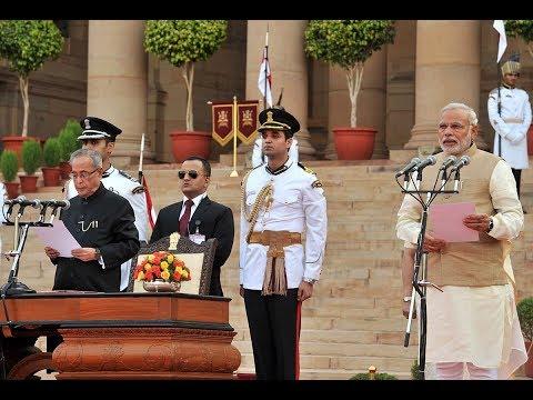 Swearing-in-Ceremony of Shri Narendra Damodardas Modi as the Prime Minister of India