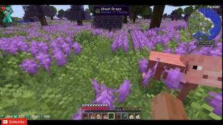 FantastiCraft 2 Modded Survival Minecraft.Meeting TNT Creepers and special Plants.Killing Enderman