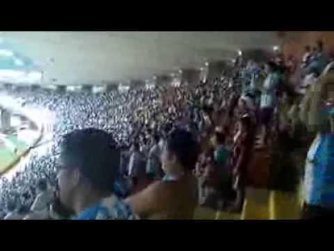 """Banda Alma Celeste - Radio Pirata Bicolor. Paysandu 2 vs Paragominas 2"" Barra: Alma Celeste • Club: Paysandu"