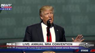 FULL SPEECH: Trump Speaks at NRA Convention in Atlanta, First President to Do So Since Reagan (FNN)