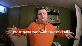 Upgraded Fishing/Hunting Man Cave Tour